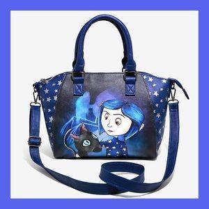 ❗️NEW❗️Loungefly Coraline Satchel Bag